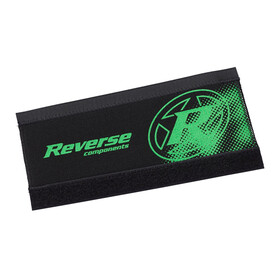 Reverse Neoprene chainstay protector Part Protection green/black